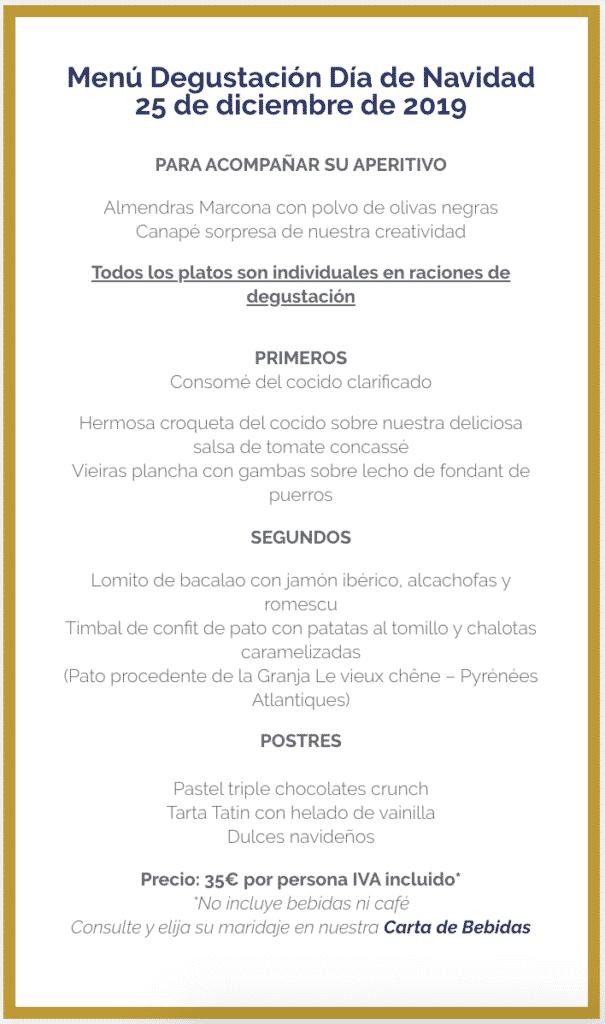 30 restaurantes con menú de Navidad en Valencia 69