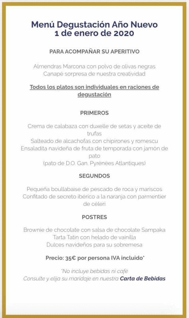 30 restaurantes con menú de Navidad en Valencia 70
