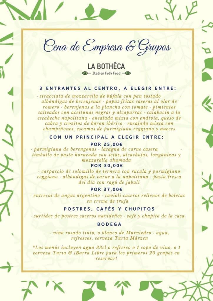 30 restaurantes con menú de Navidad en Valencia 1