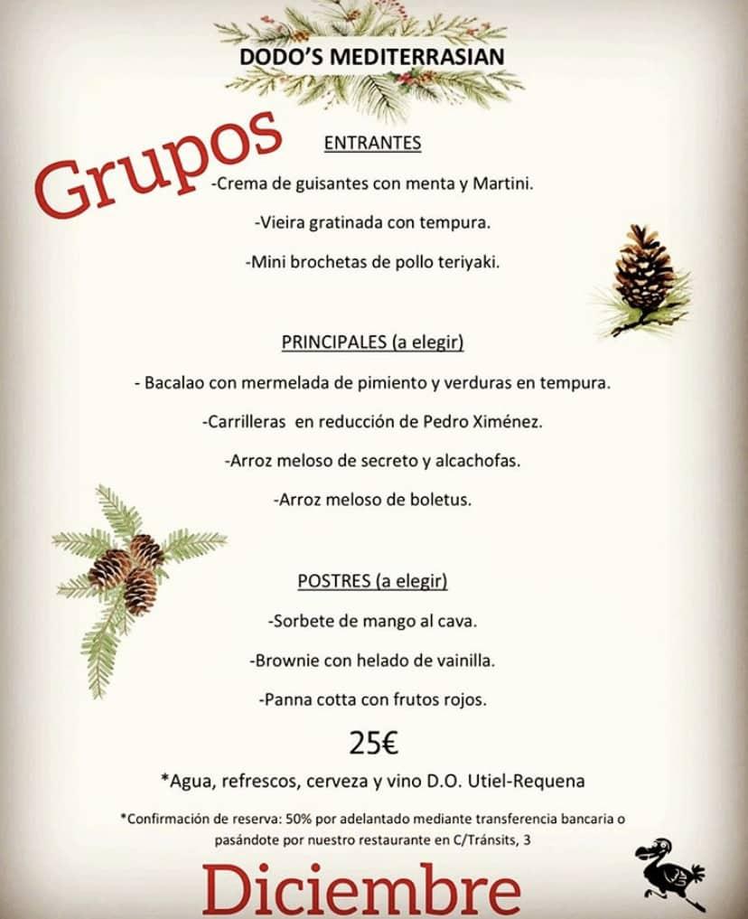 30 restaurantes con menú de Navidad en Valencia 51