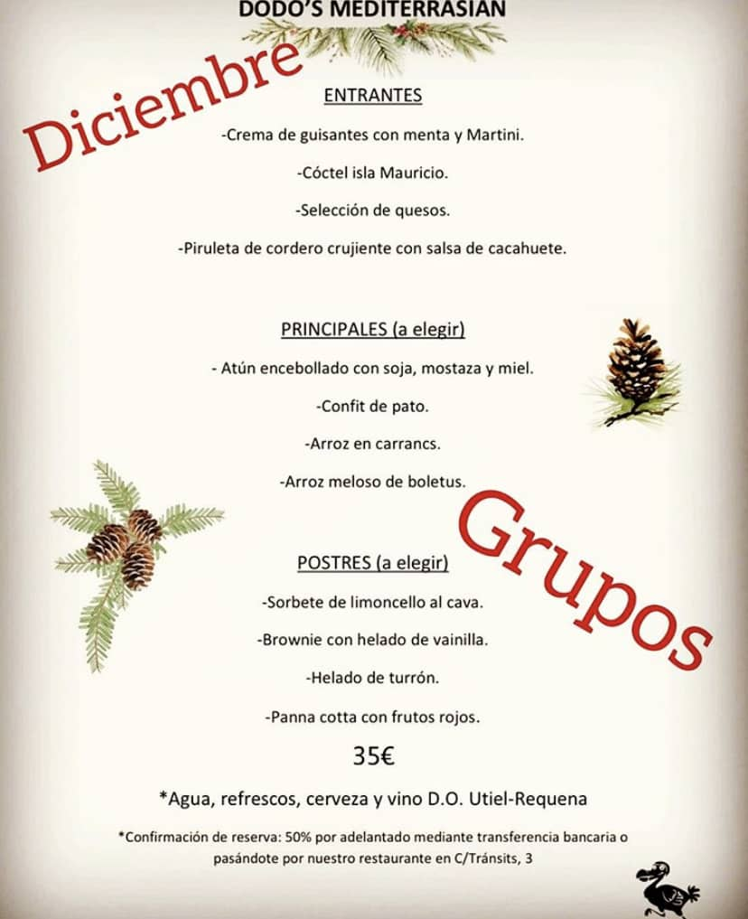 30 restaurantes con menú de Navidad en Valencia 52