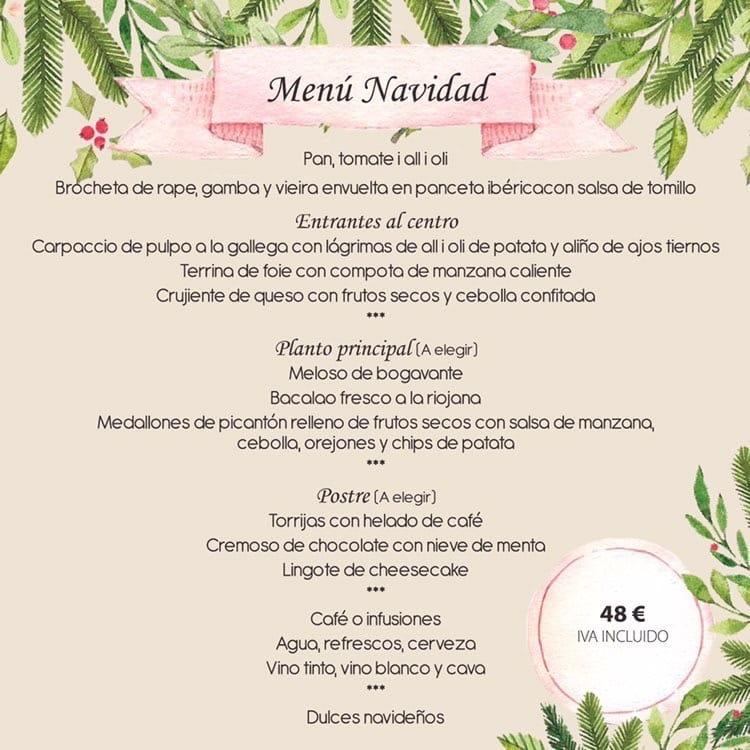30 restaurantes con menú de Navidad en Valencia 20