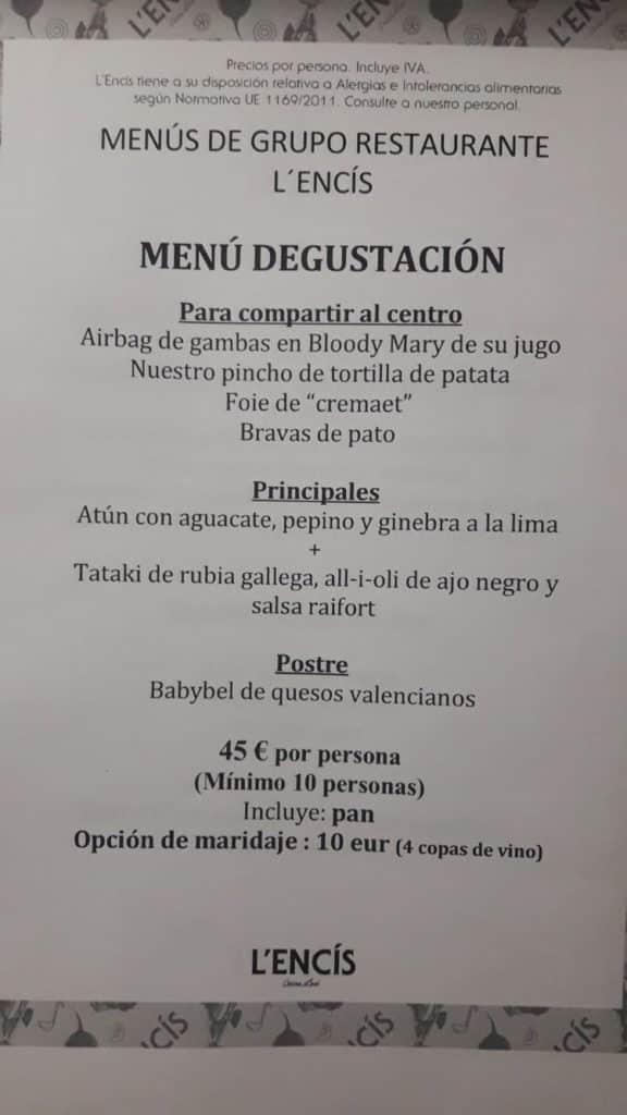 30 restaurantes con menú de Navidad en Valencia 5