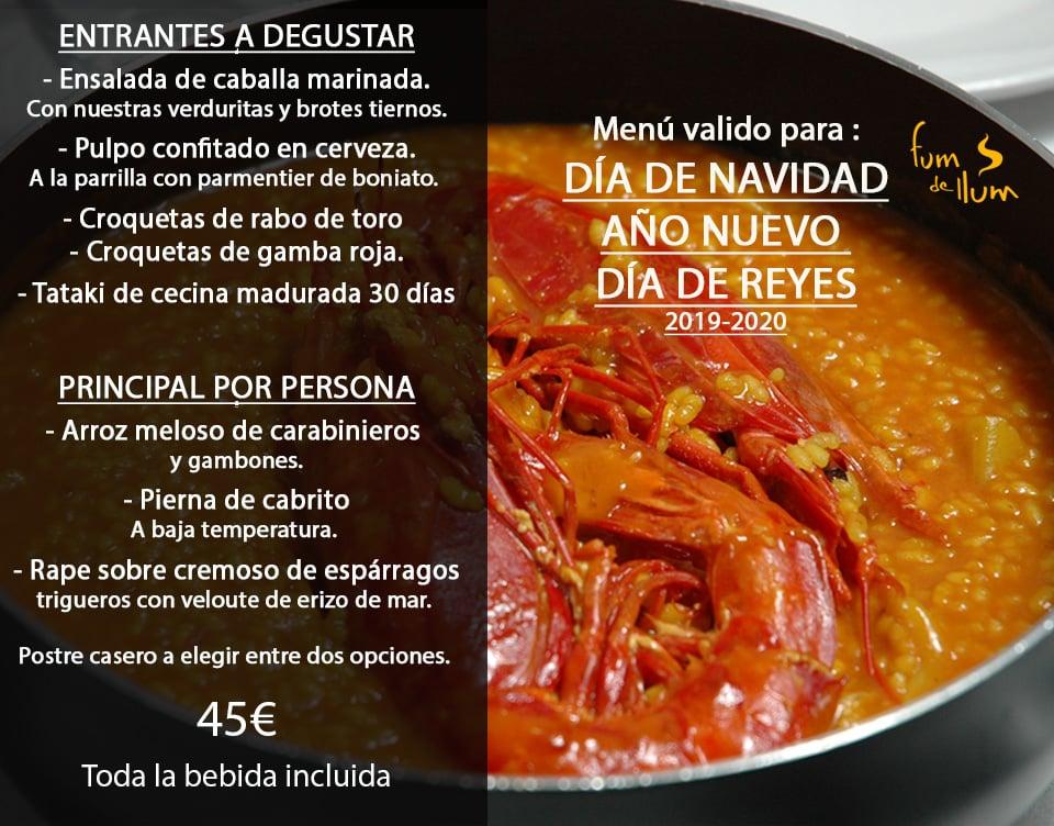 30 restaurantes con menú de Navidad en Valencia 13