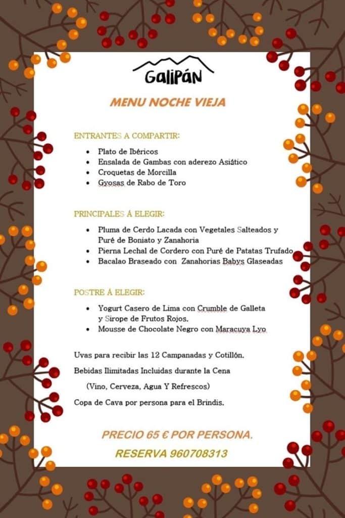 30 restaurantes con menú de Navidad en Valencia 23