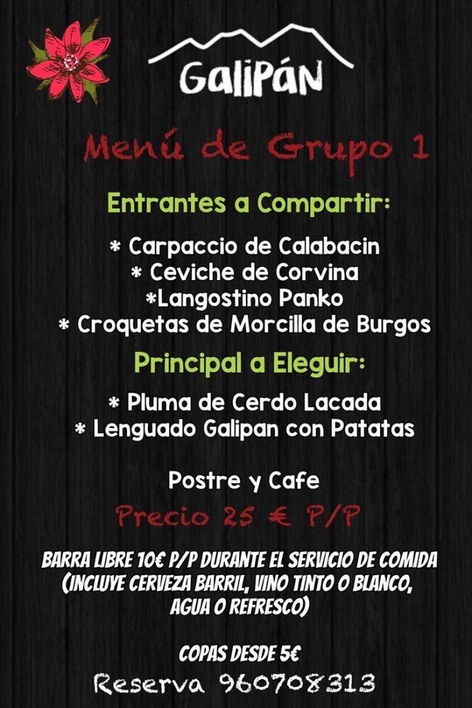 30 restaurantes con menú de Navidad en Valencia 24