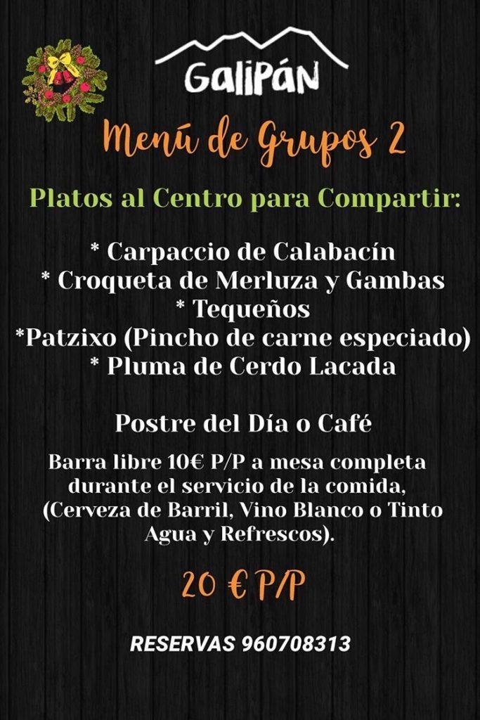 30 restaurantes con menú de Navidad en Valencia 25