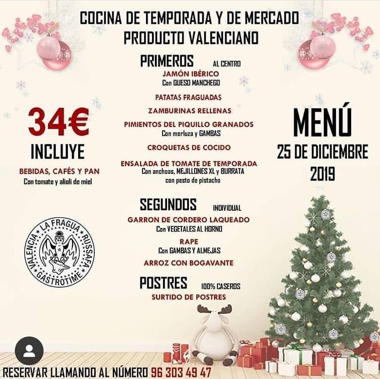 30 restaurantes con menú de Navidad en Valencia 34
