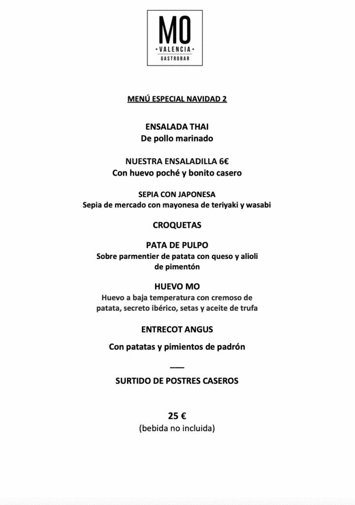 30 restaurantes con menú de Navidad en Valencia 66