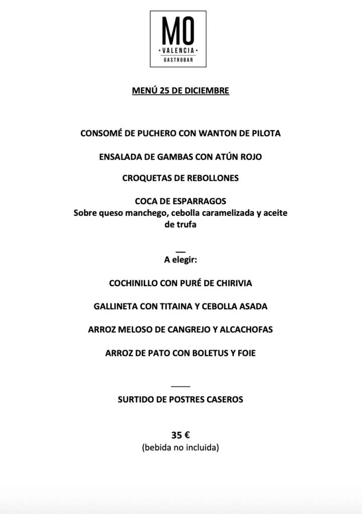 30 restaurantes con menú de Navidad en Valencia 68