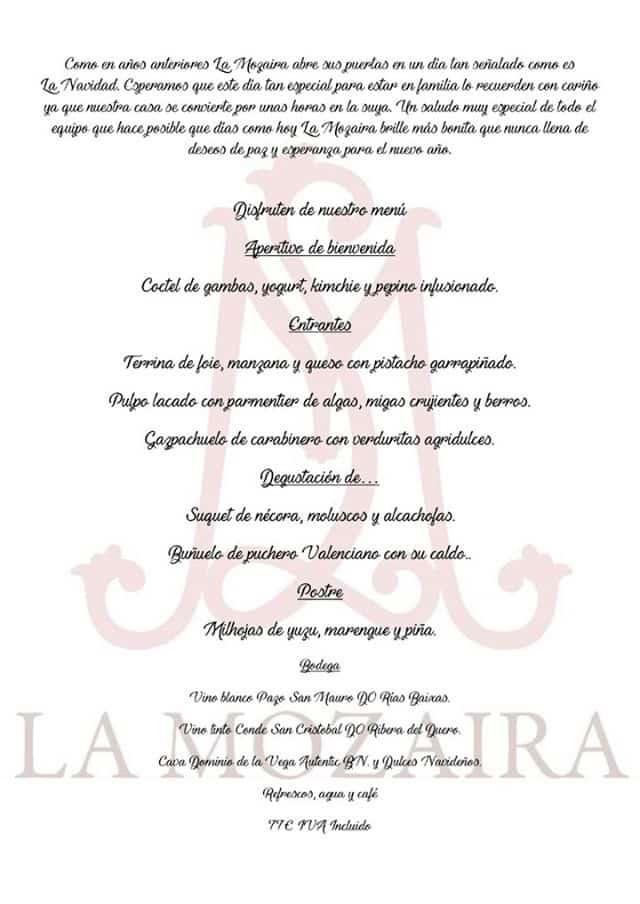30 restaurantes con menú de Navidad en Valencia 53