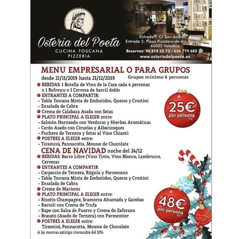 30 restaurantes con menú de Navidad en Valencia 8