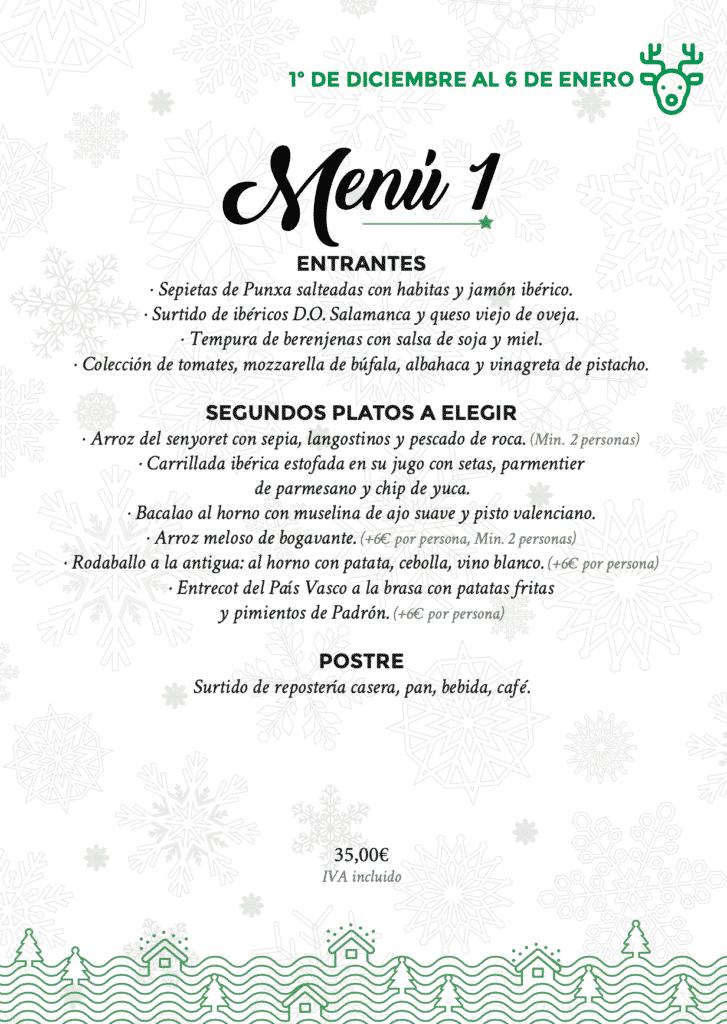 30 restaurantes con menú de Navidad en Valencia 55