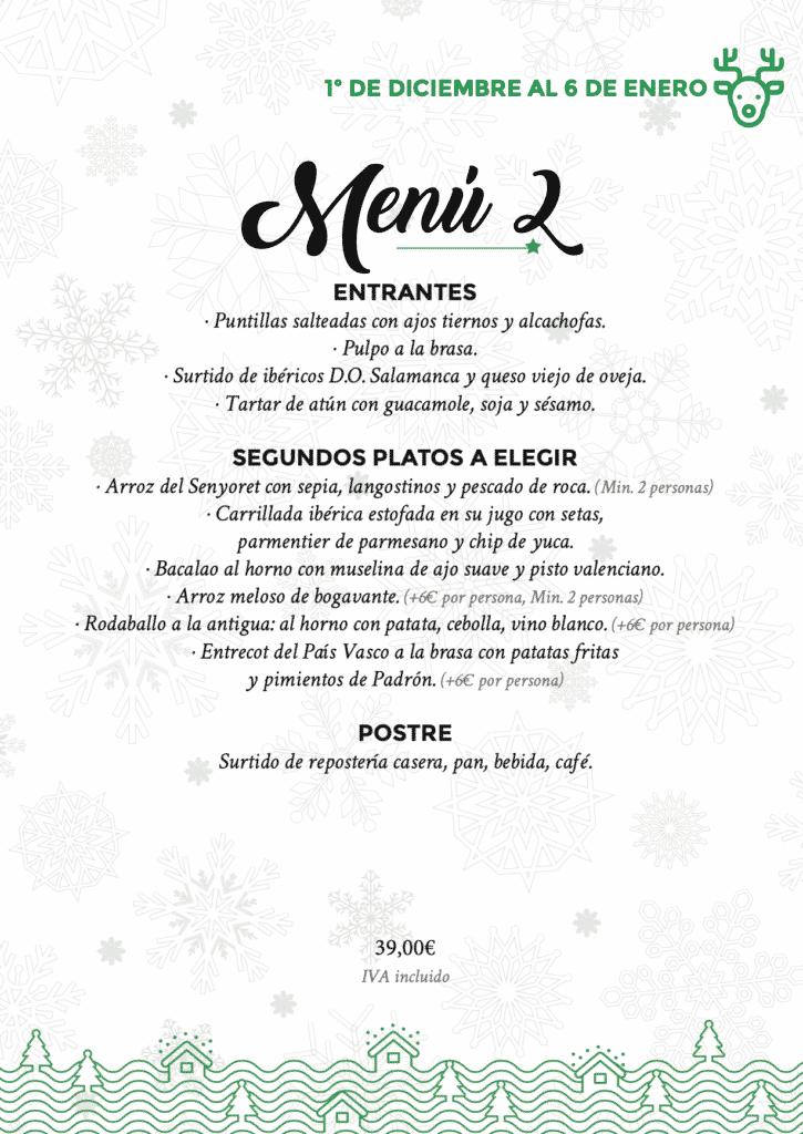 30 restaurantes con menú de Navidad en Valencia 56