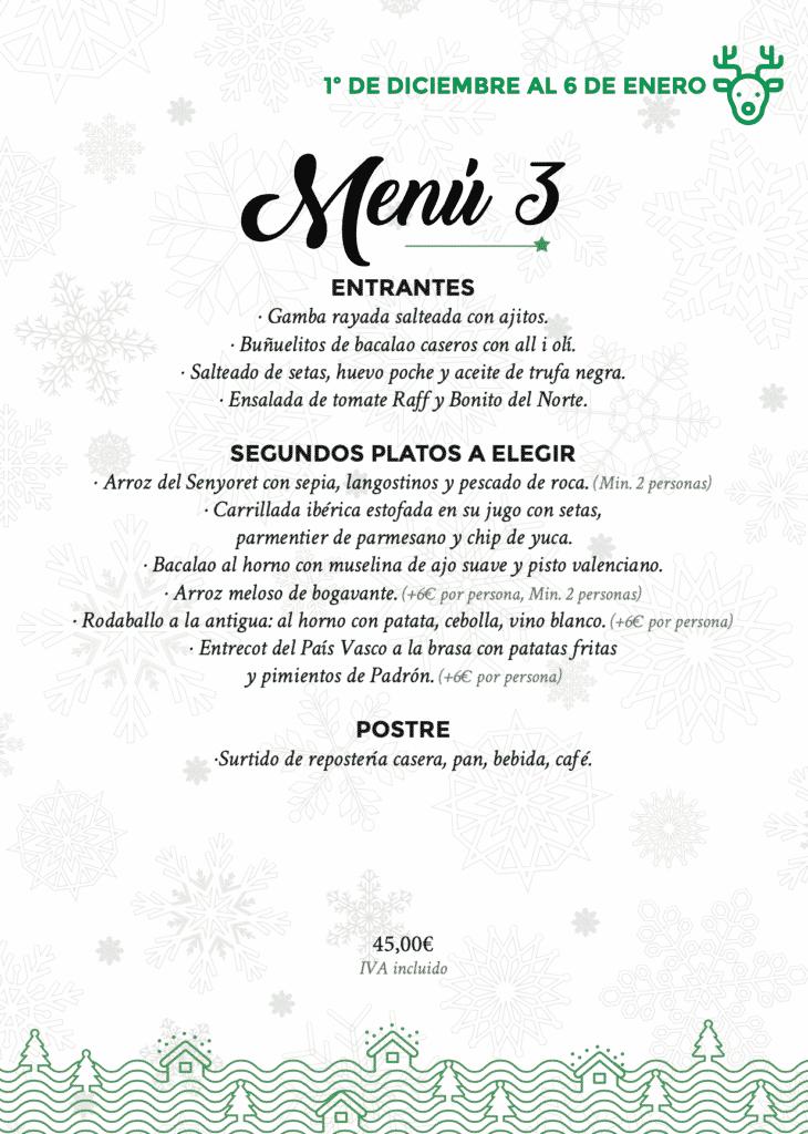 30 restaurantes con menú de Navidad en Valencia 57