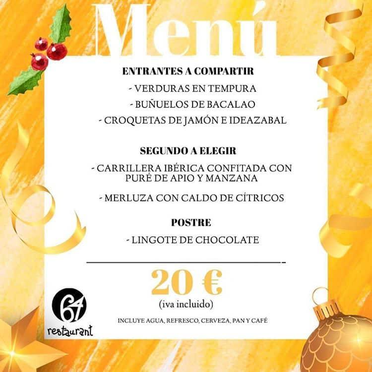 30 restaurantes con menú de Navidad en Valencia 35