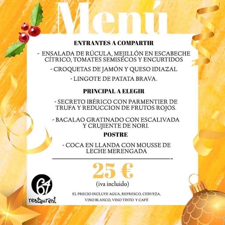 30 restaurantes con menú de Navidad en Valencia 36