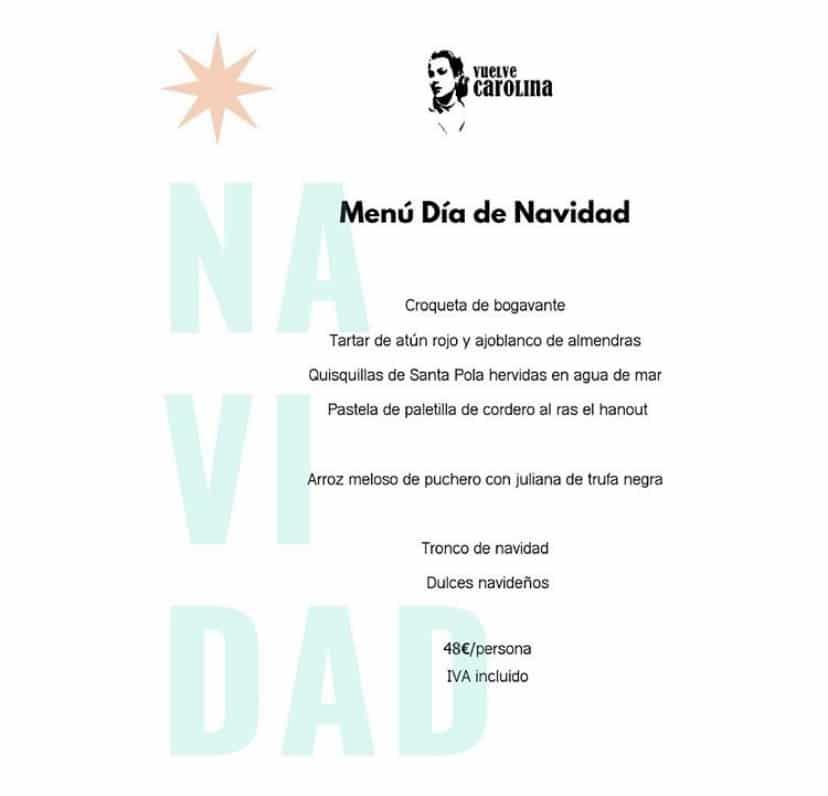 30 restaurantes con menú de Navidad en Valencia 41